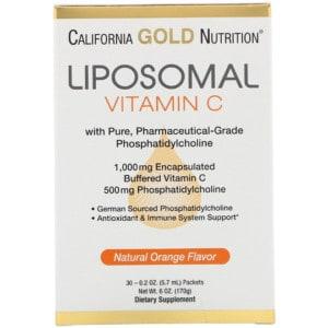California Gold Nutrition, リポソームビタミンC