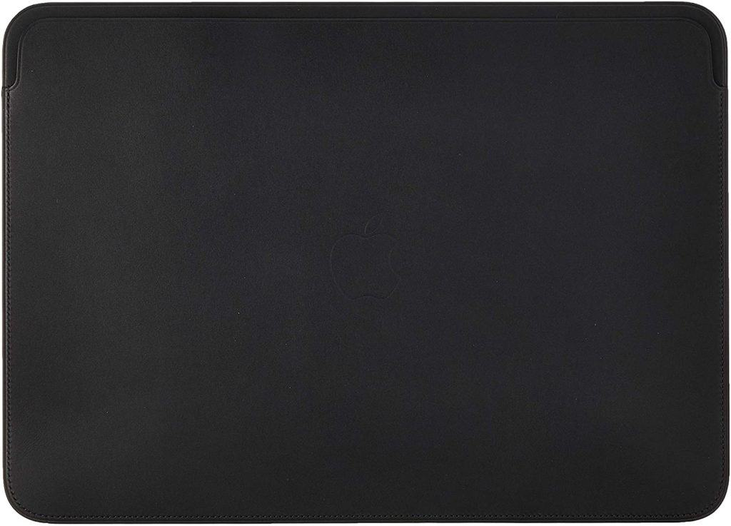Apple純正品のレザースリーブ