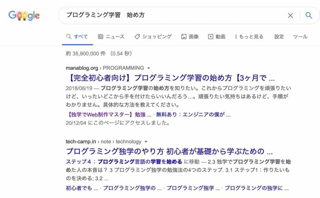 Googleコアアップデート後のマナブログサイトへの影響