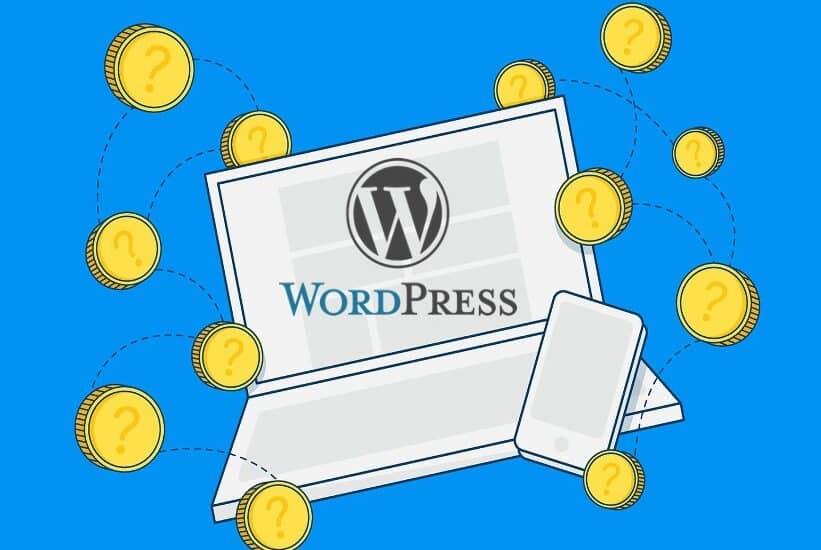 WordPressの料金やブログ費用はいくら?