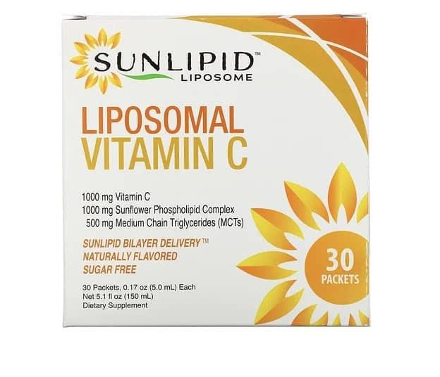 SunLipidのリポソームビタミンC