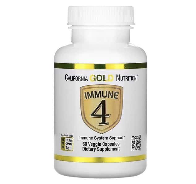 California Gold NutritionのImmune4(イミューン4)