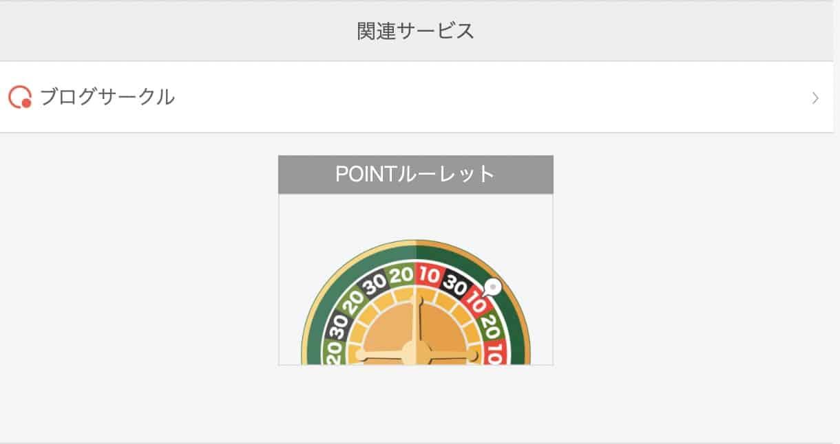 人気ブログランキングでPOINTルーレットでポイントゲットする方法